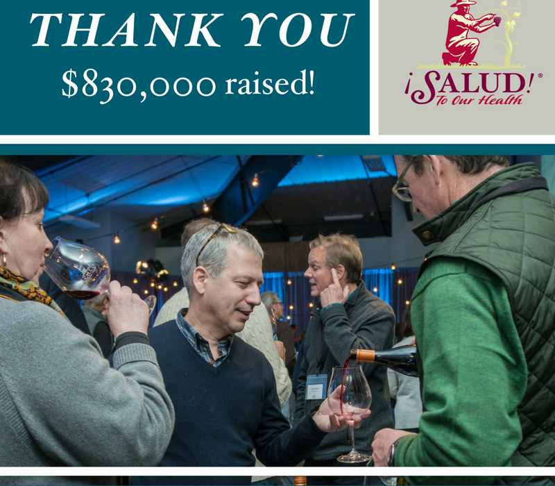 Thank you! $830,000 raised!